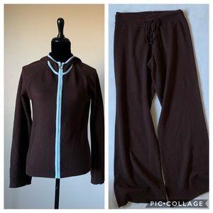 Tops - Cashmere track suit